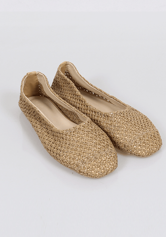 Continued Silence Flat Shoes