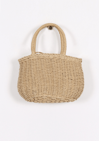 Be My Valentine Straw Bag