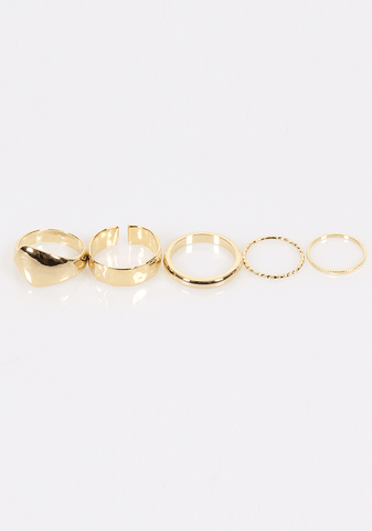 Home By Spring Rings Set