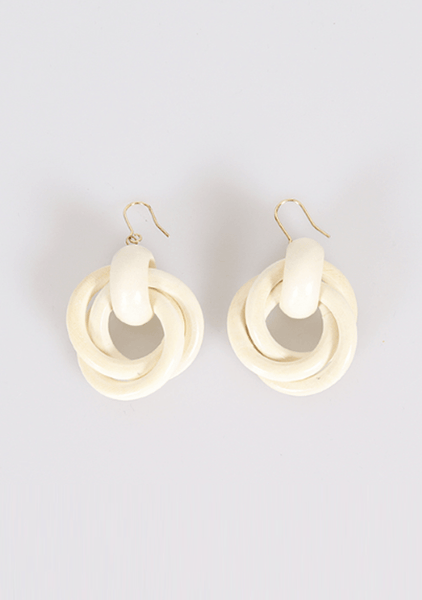 Chance Of Rain Hoops Earrings
