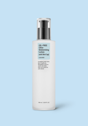 白樺無油保濕水凝乳<BR>Oil Free Ultra Moisturizing Lotion with Birch Sap