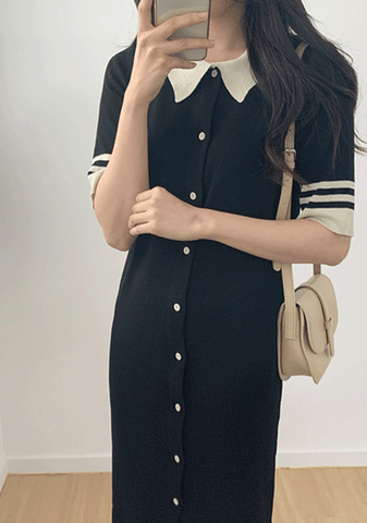 Vintage Babe Collar Dress