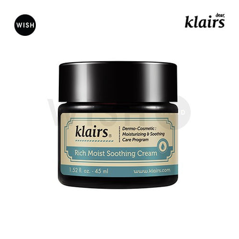 潤澤保溼紓緩乳液<br>KLAIRS Rich Moist Soothing Cream
