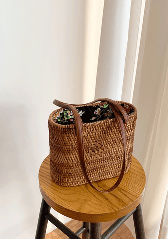 Roman Holiday Straw Bag