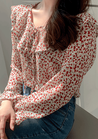 Be Magical Flower Blouse