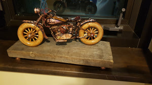 Indian Scout - Handcrafted motorcycle art