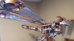 V Twin Dragon Fly - Handcrafted art