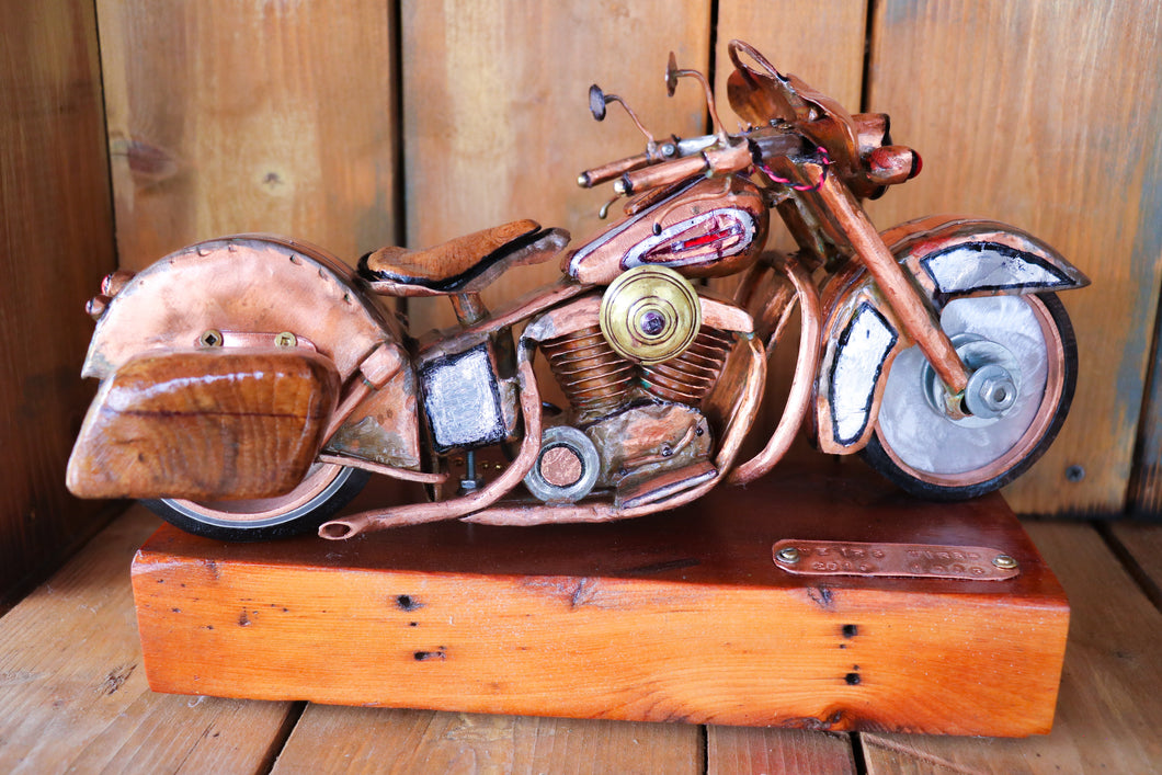 Boss Hog - Handcrafted motorcycle art