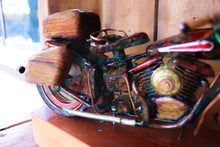 Load image into Gallery viewer, Hippy Hog - Handcrafted motorcycle art