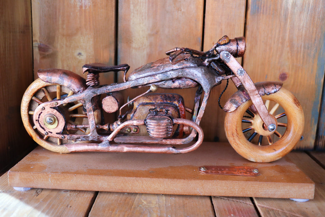1938 Zundnapp 750 - Handcrafted motorcycle art