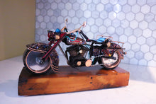 Load image into Gallery viewer, Black Bobber - Handcrafted motorcycle art
