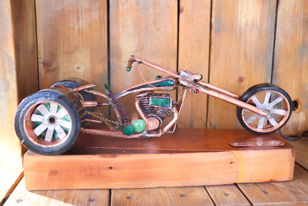 On Trike - Handcrafted motorcycle art