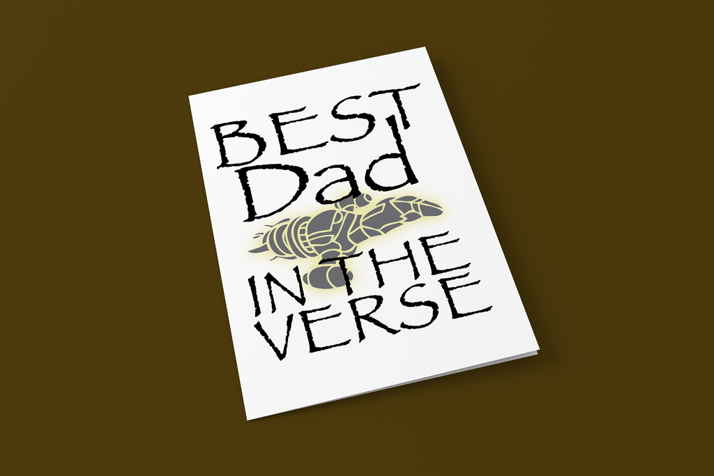 Best Dad In The Verse - Firefly/Serenity - Digital Father's Day Card - Supernerdmart