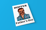 Hopper Father's Day - Stranger Things - Digital Father's Day Card - Supernerdmart