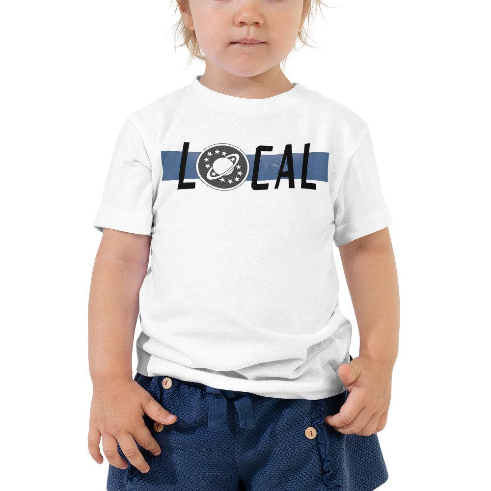 Local - Galaxy Quest - Toddler Novelty T-Shirt - Matching Family Vacation Shirts - Supernerdmart