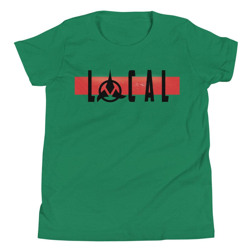 Local - Klingon - Star Trek - Youth Novelty T-shirt - Matching Family Vacation T-shirts - Comic Conventions - Supernerdmart