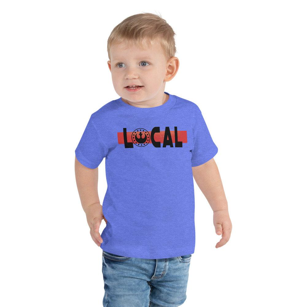 Local - New Republic - Star Wars Toddler Novelty T-shirt -Matching Family VacationT-shirts - Comic Conventions - Supernerdmart