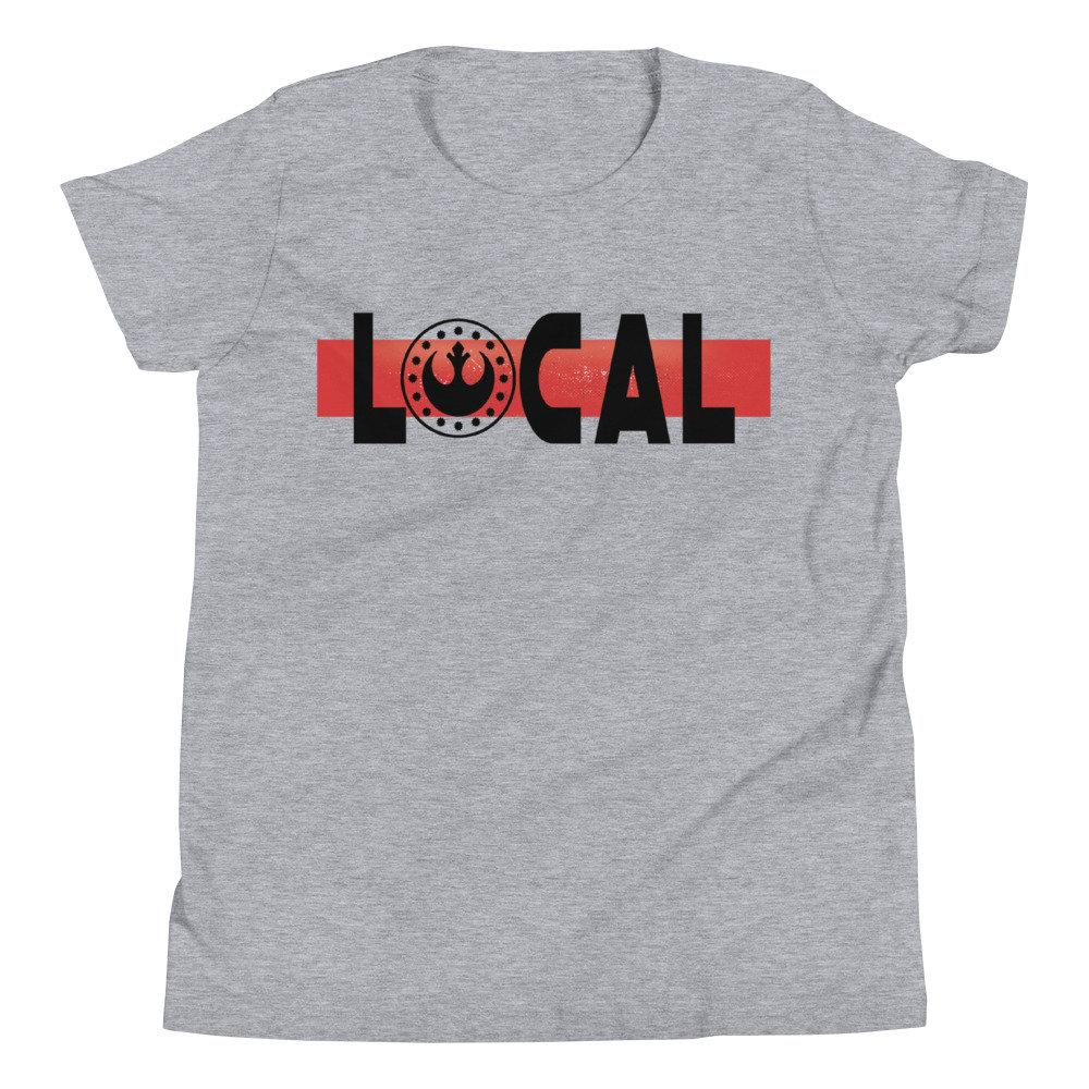 Local - New Republic - Star Wars Youth Novelty T-shirt -Matching Family VacationT-shirts - Comic Conventions - Supernerdmart