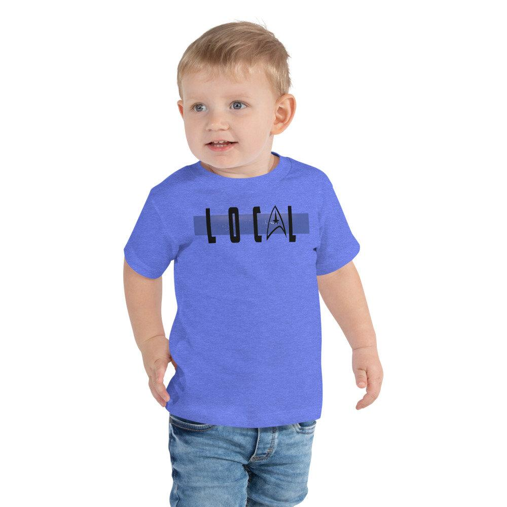 Local - Star Trek Medical Novelty Toddler T-Shirt - Matching Family Vacation T-shirts - Comic Conventions - Supernerdmart