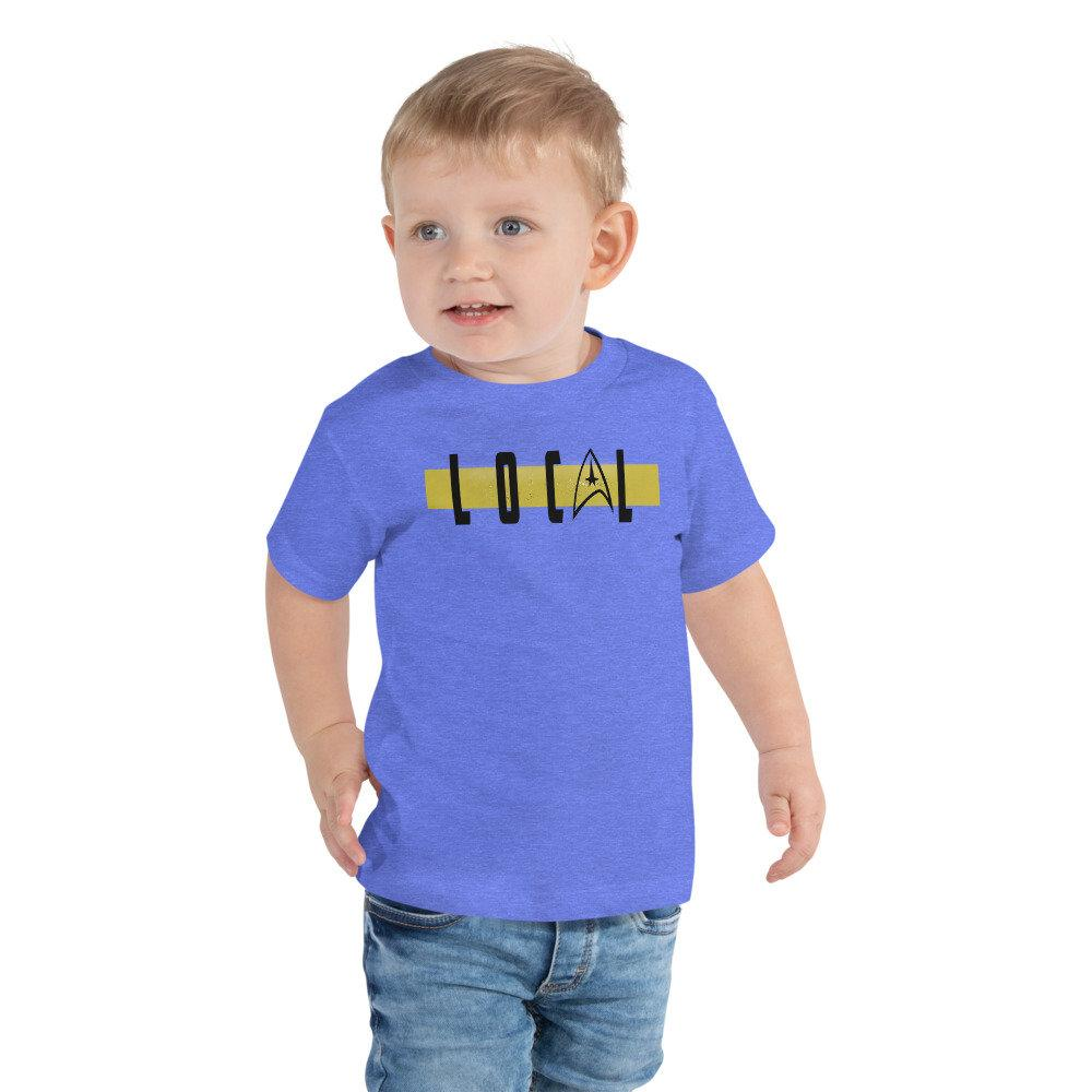 Local - Star Trek Security/Operations Novelty Youth T-Shirt - Matching Family Vacation T-shirts - Comic Conventions - Supernerdmart