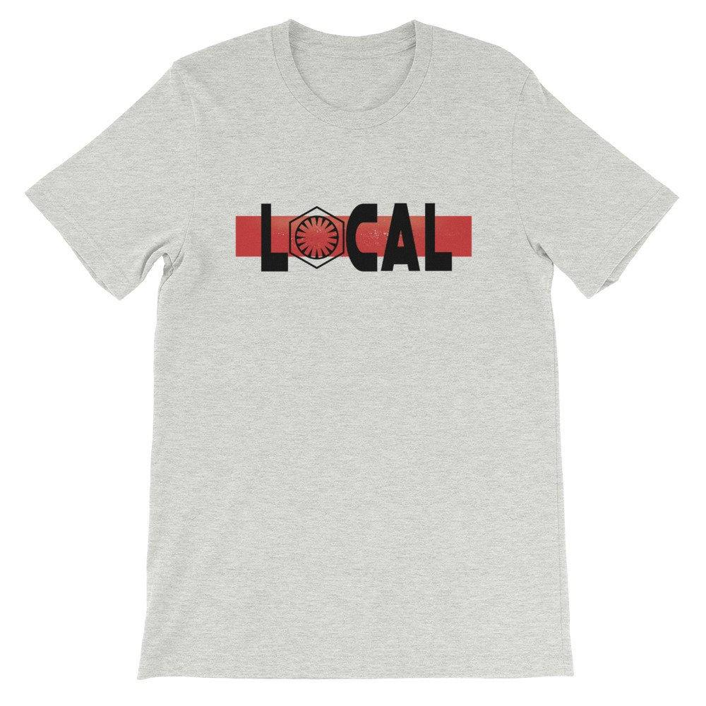 Local - Star Wars First Order - Novelty Unisex T-Shirt - Supernerdmart
