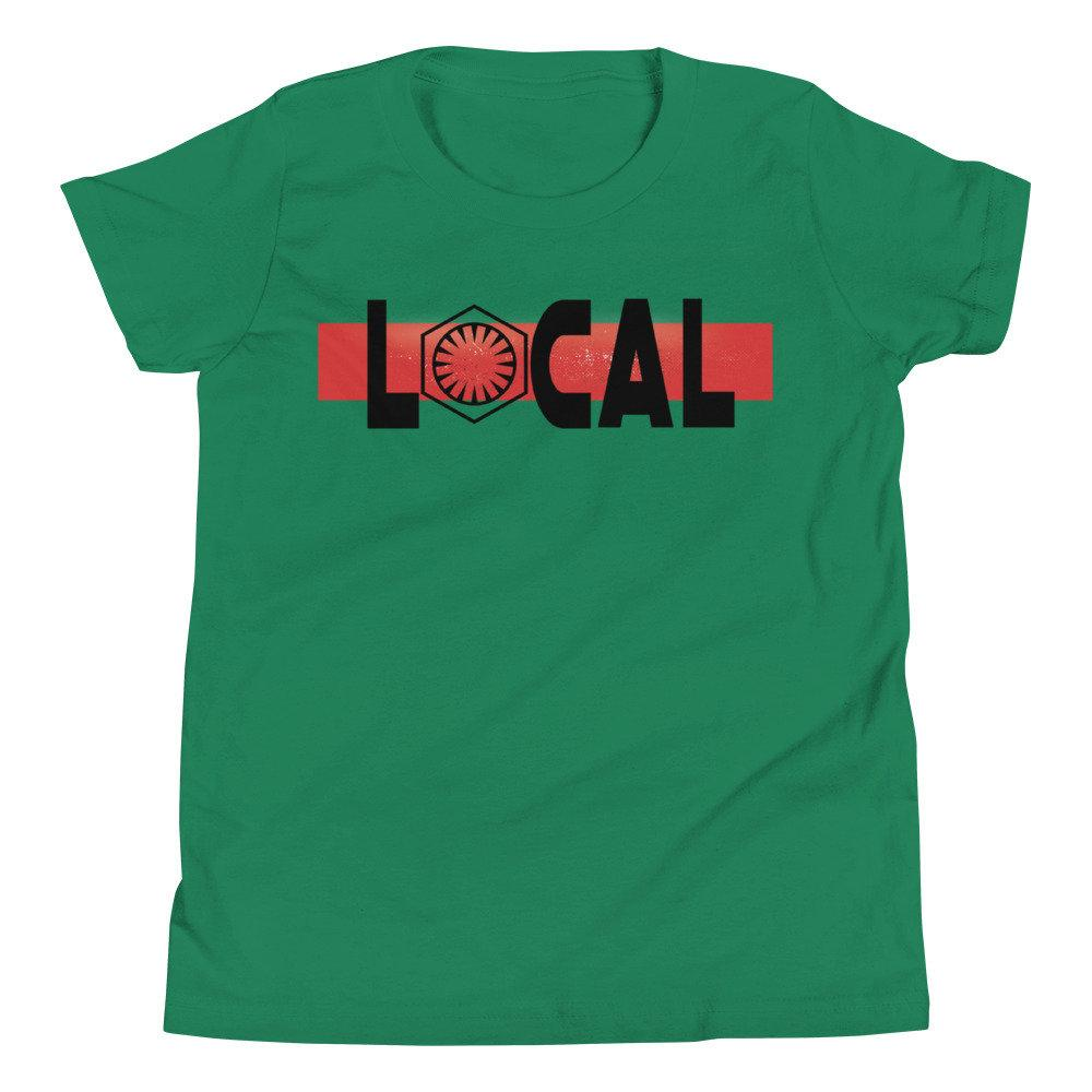 Local - Star Wars First Order - Novelty Youth T-Shirt - Matching Family Vacations - Comic Conventions! - Supernerdmart