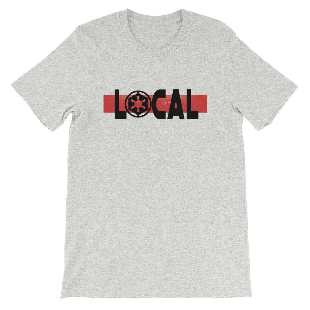 Local - Star Wars Galactic Empire - Novelty Unisex T-Shirt - Supernerdmart