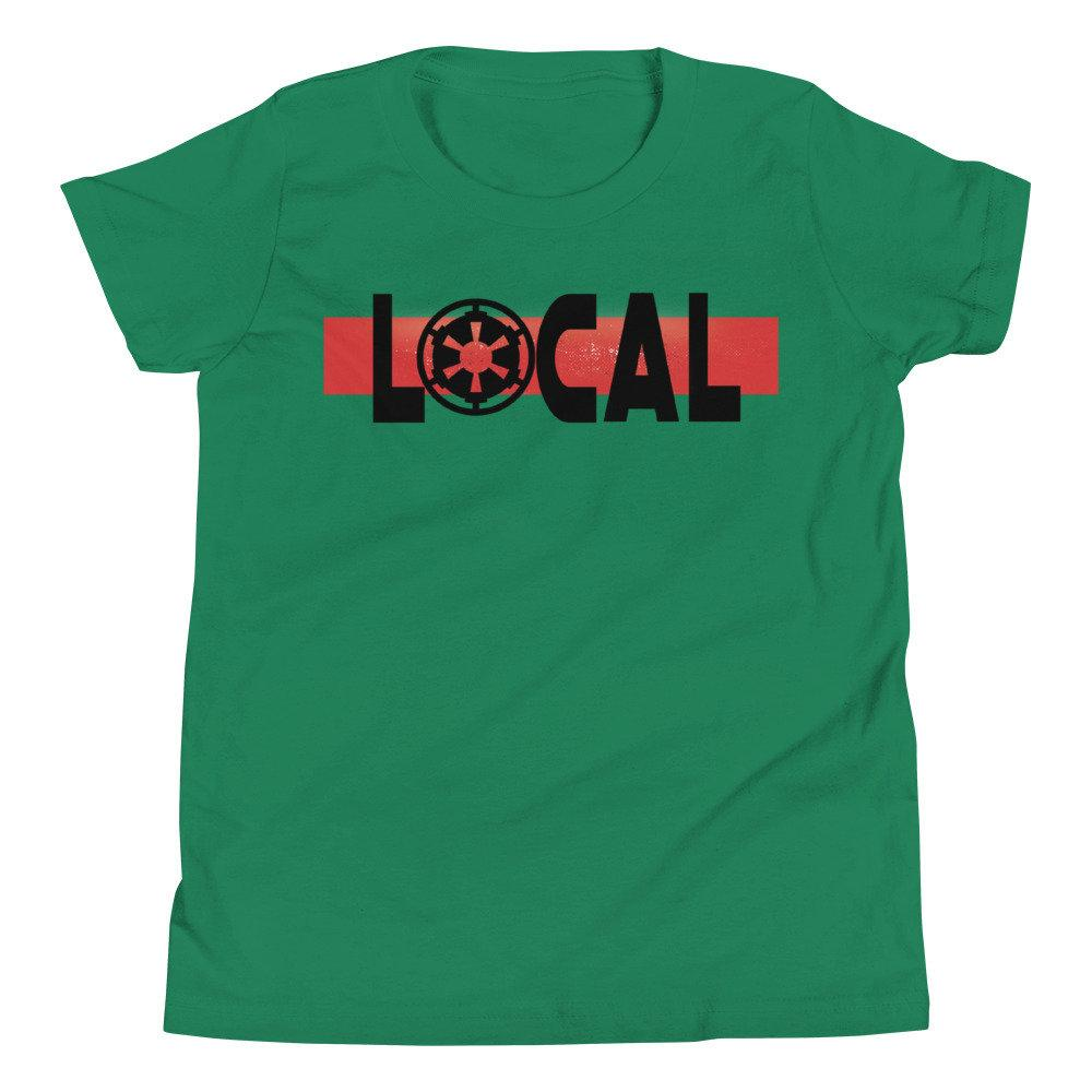 Local - Star Wars Galactic Empire - Novelty Youth T-Shirt - Matching Family T-Shirts - Comic Conventions! - Supernerdmart