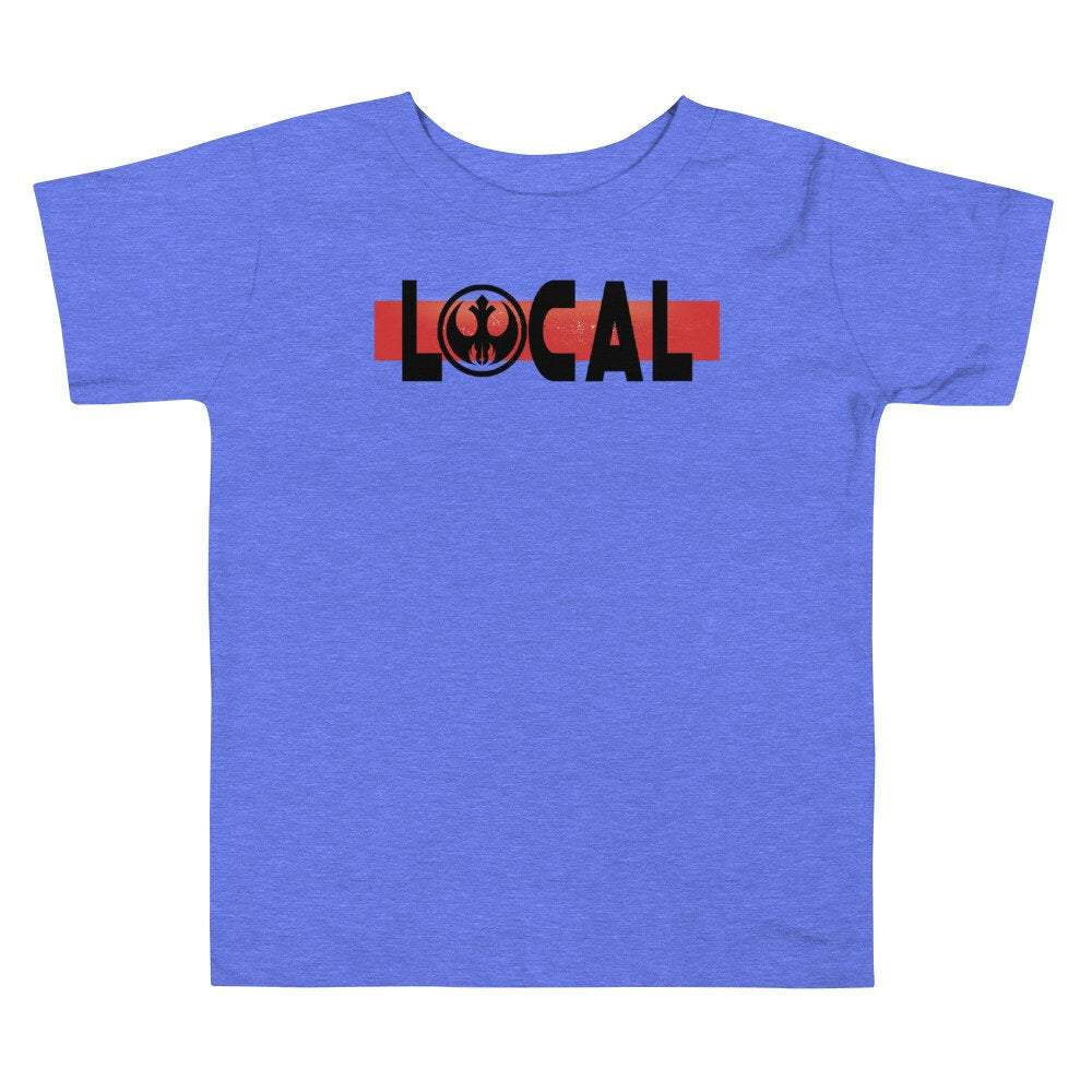Local - Star Wars Jedi Rebel - Novelty Toddler T-Shirt - Matching Family Vacations - Comic Conventions - Supernerdmart