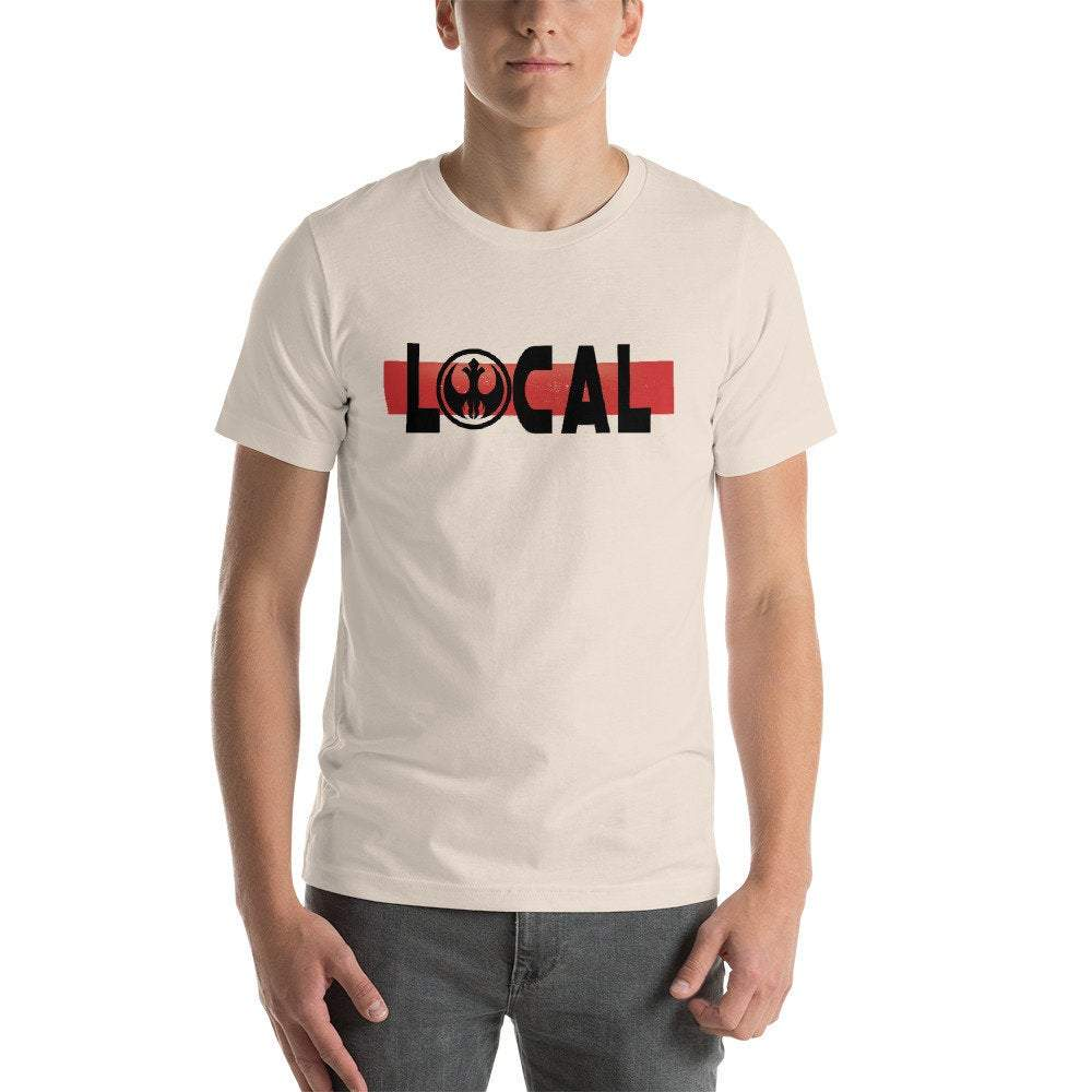 Local - Star Wars Jedi Rebel - Novelty Unisex T-Shirt - Supernerdmart