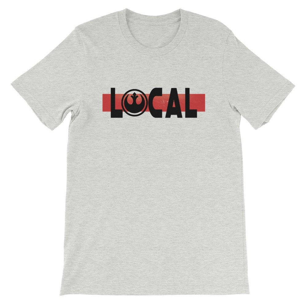 Local - Star Wars Rebel - Novelty Unisex T-Shirt - Supernerdmart