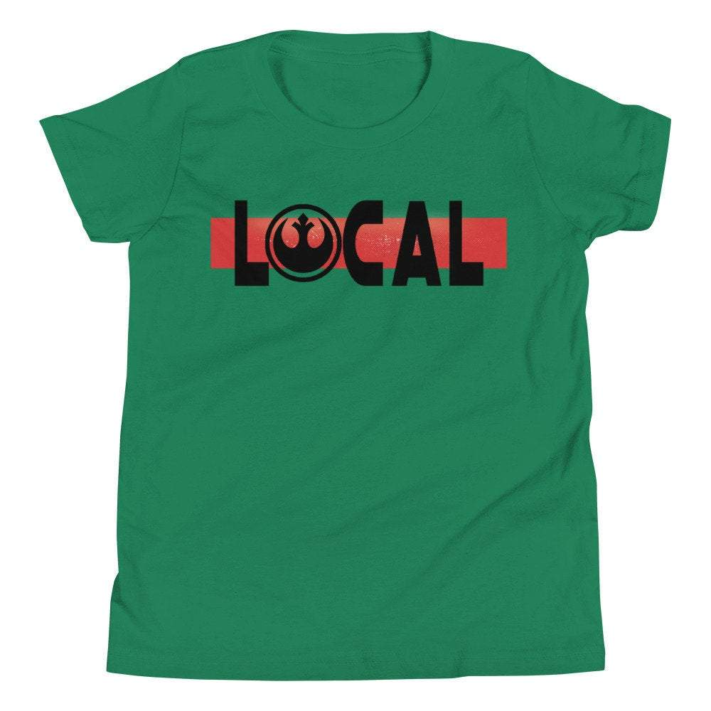 Local - Star Wars Rebel - Novelty Youth T-Shirt - Matching Family Vacation T-Shirt - Comic Conventions - Supernerdmart