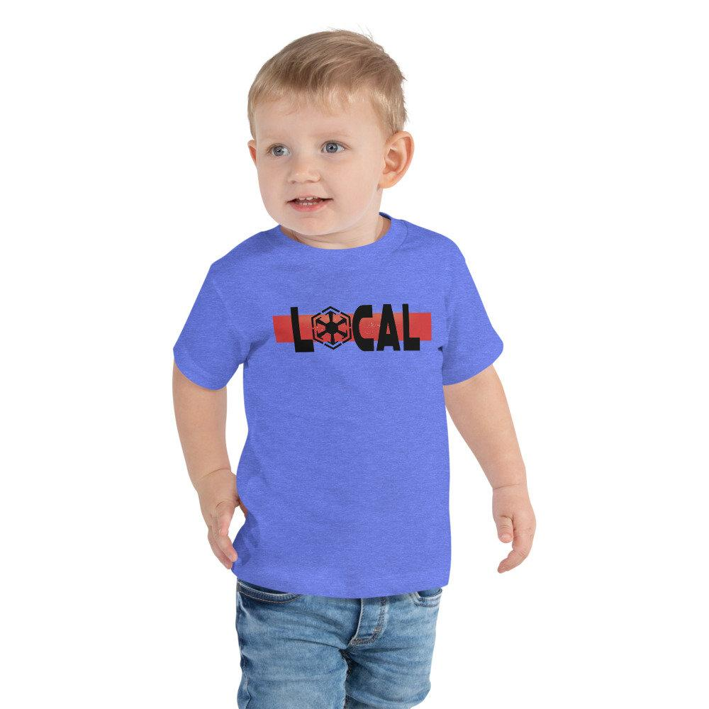Local - Star Wars Sith - Novelty Toddler T-Shirt - Matching Family Vacation T-shirts - comic Conventions - Supernerdmart