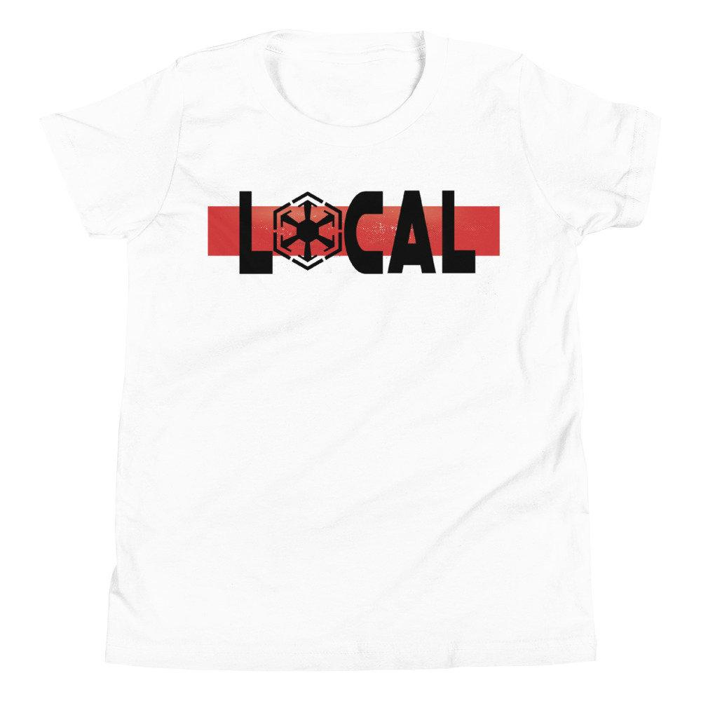 Local - Star Wars Sith - Novelty Youth T-Shirt - Matching Family Vacation T-shirts - comic Conventions - Supernerdmart