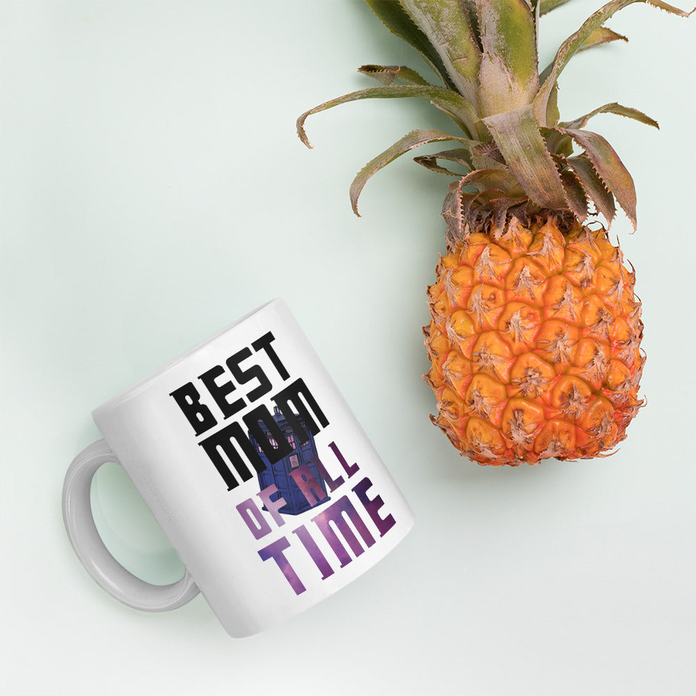 Best Mom of All Time - Doctor Who - Mother's Day Coffee Mug - Supernerdmart