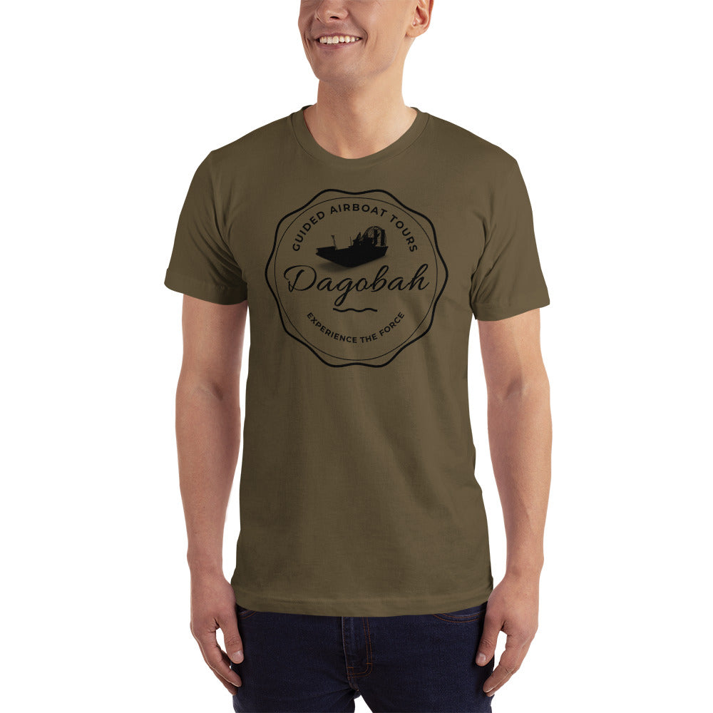 Dagobah Airboat Swamp Tours - Experience The Force - Star Wars Unisex T-Shirt - Supernerdmart