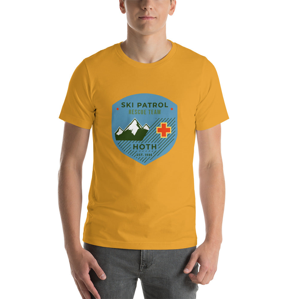 Hoth Ski Patrol T-shirt - Novelty Star Wars - Unisex T-Shirt - Supernerdmart