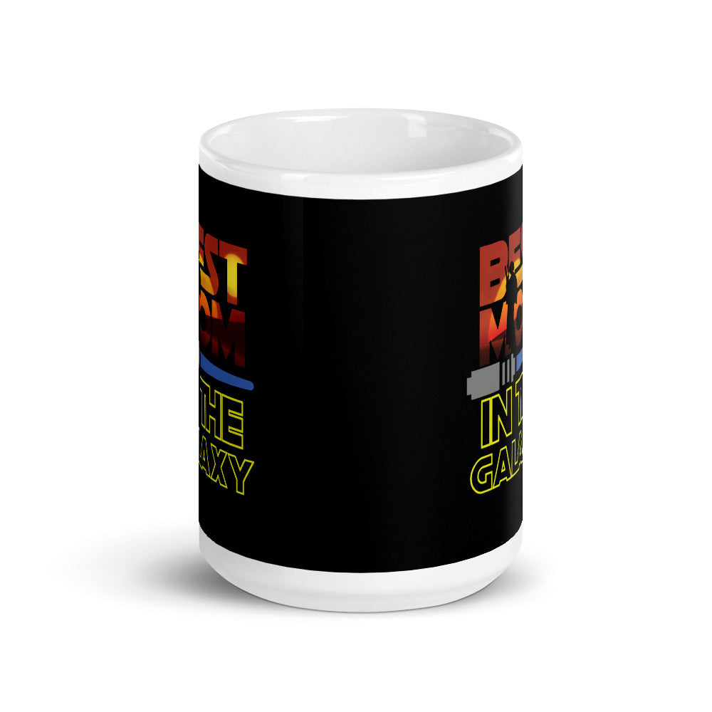 Best Mom In The Galaxy Coffee Mug - Supernerdmart