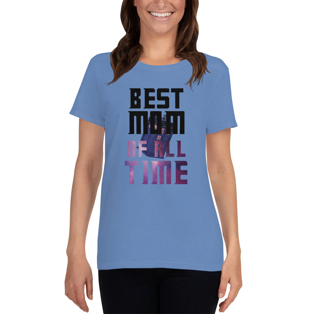 Best Mom Of All Time - Doctor Who - Mother's Day - Women's short sleeve t-shirt - Supernerdmart