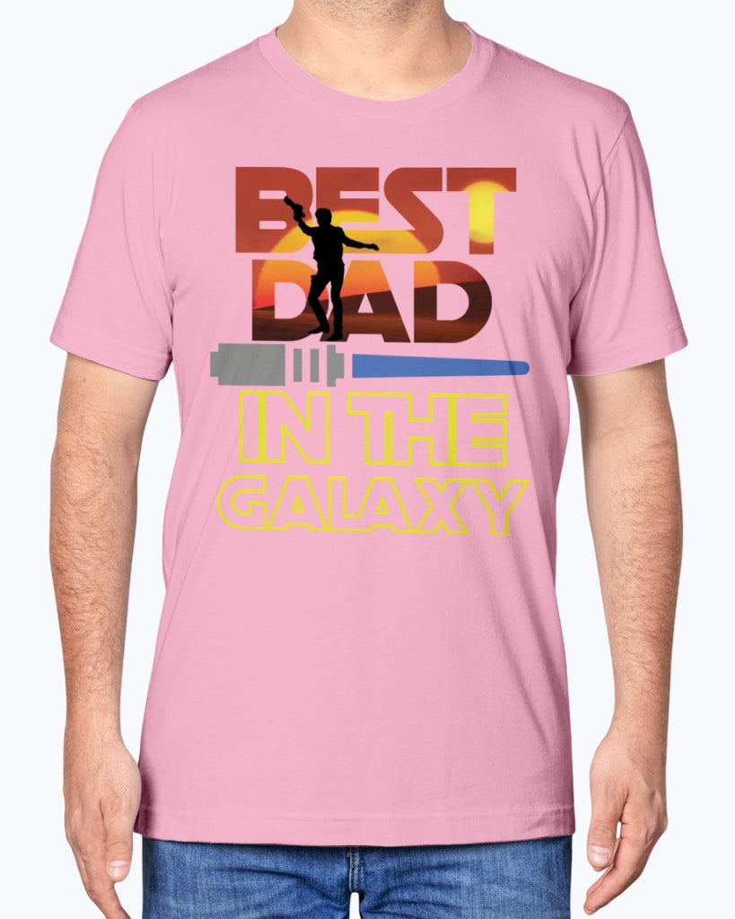 Best Dad In The Galaxy - Star Wars - Father's Day T-Shirt - Supernerdmart