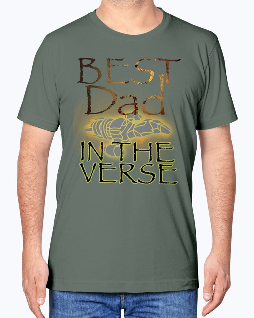 Best Dad In The Verse - Firefly/Serenity - Father's Day T-Shirt - Supernerdmart