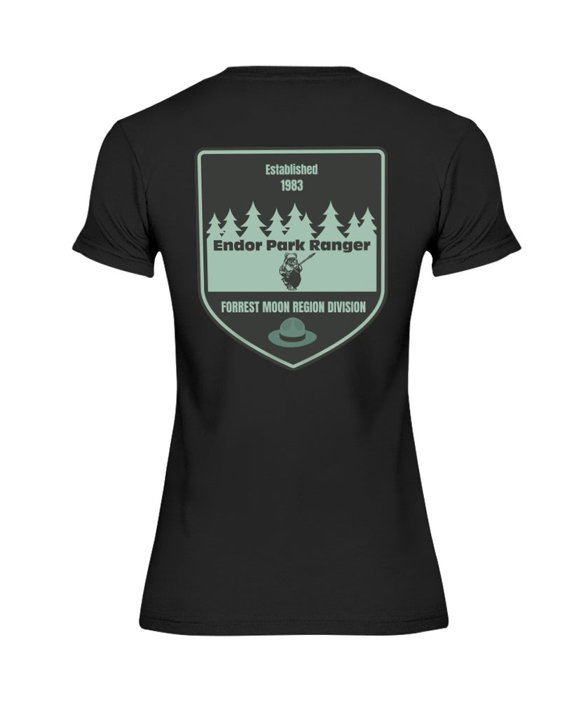 Endor Park Ranger - Star Wars Women's T-Shirt - Supernerdmart