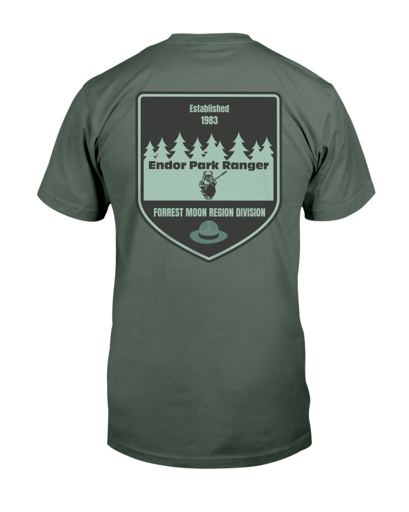 Endor Park Ranger - Star Wars Men's T-shirt - Supernerdmart