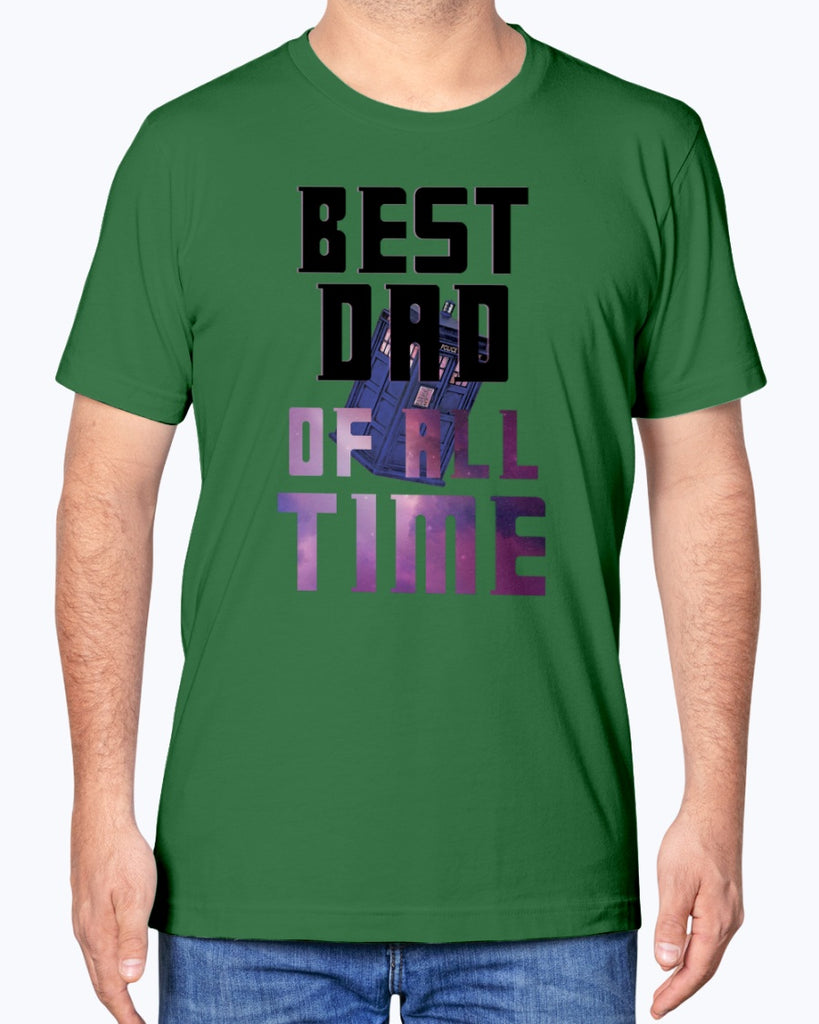 Best Dad Of All Time - Doctor Who - Father's Day T-Shirt - Supernerdmart