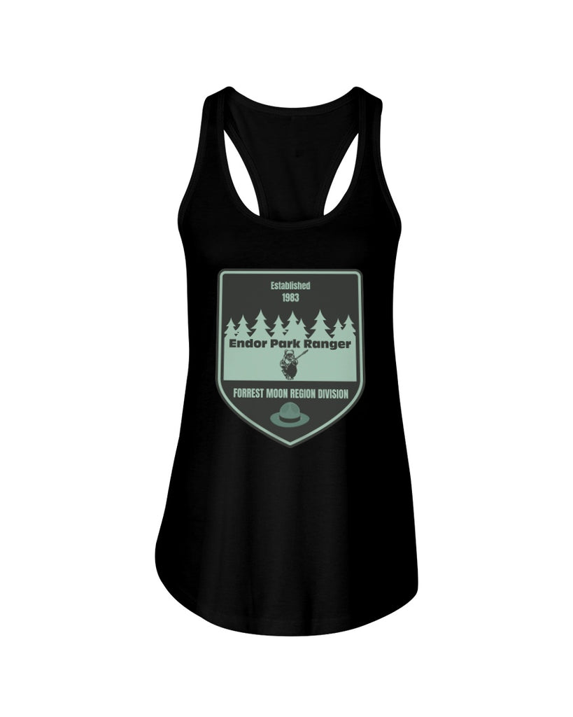 Endor Park Ranger - Star Wars Women's Tank Top - Supernerdmart