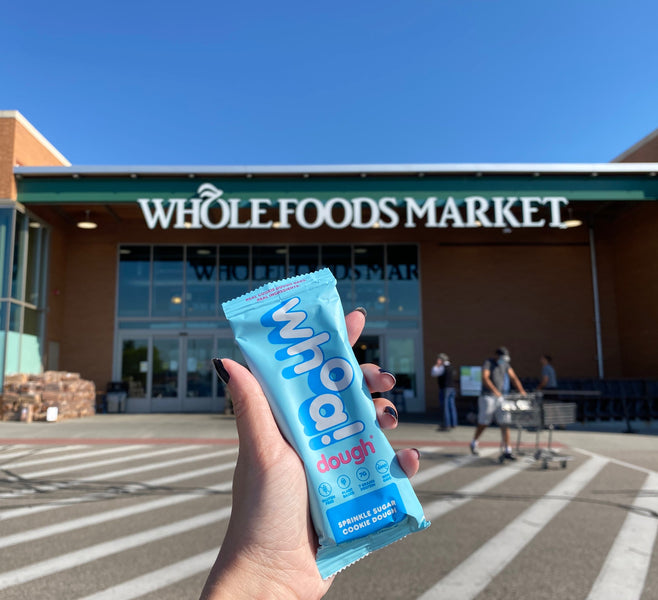 Now Available at Area Whole Foods