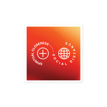 "Load image into Gallery viewer, Spiritual Closeness Christian Catholic Sticker 3""x3"" 