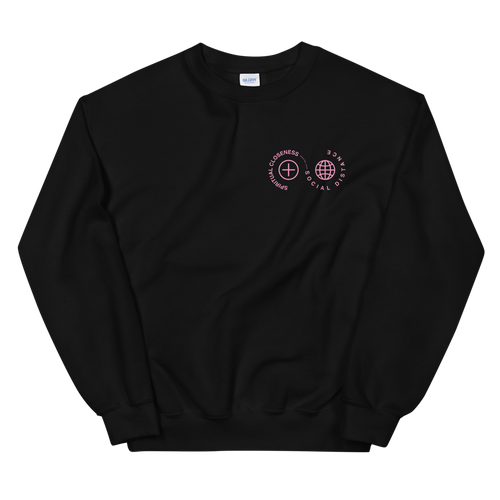 Spiritual Closeness Unisex Crewneck Sweatshirt in black | Unleash the Gospel