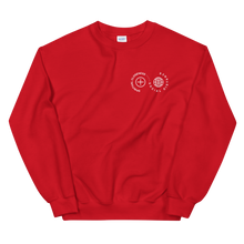 Load image into Gallery viewer, Spiritual Closeness Unisex Crewneck Sweatshirt in red | Unleash the Gospel