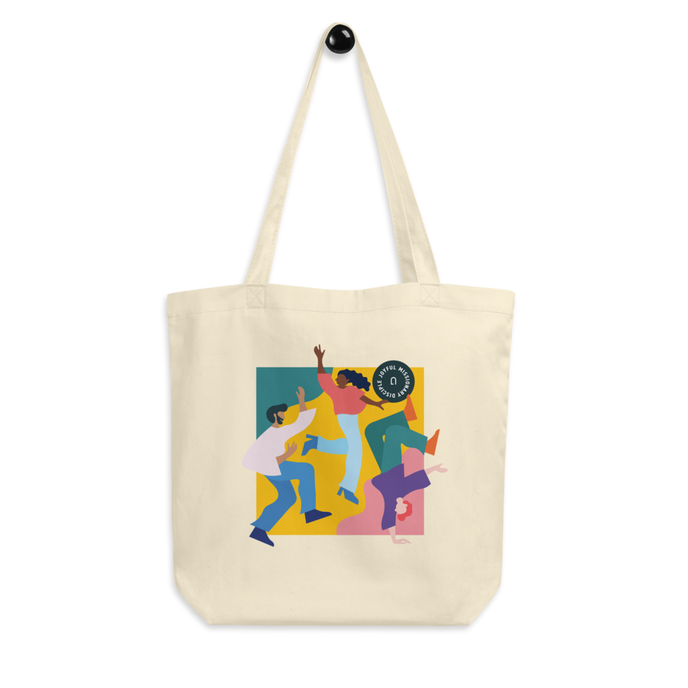 Joyful Missionary Disciple Eco Tote Bag | Unleash the Gospel